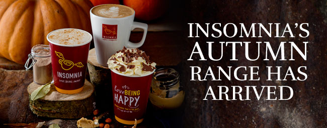 Fall in Love with our new Autumn Collection Menu