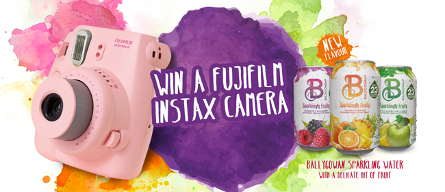 Win a Fujifilm Instax Camera to capture your summer!