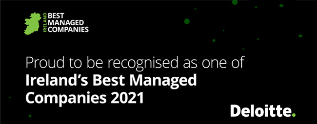 Insomnia announced as one of Ireland's Best Managed Companies 2021!