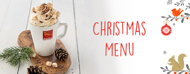 Christmas Menu now in stores!
