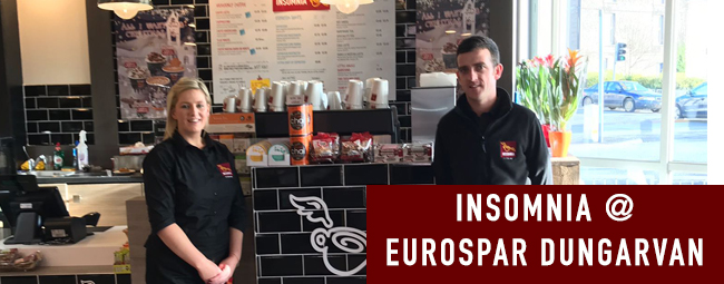 Coffee By the Coast in Insomnia @ EUROSPAR Dungarvan