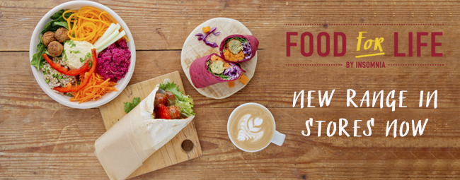 Food For Life - New Menu Out Now