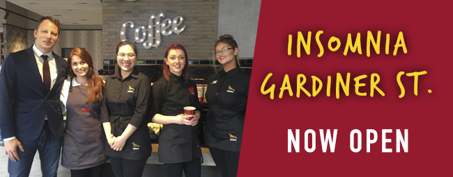 Now Serving Your Daily Brew on Gardiner Street