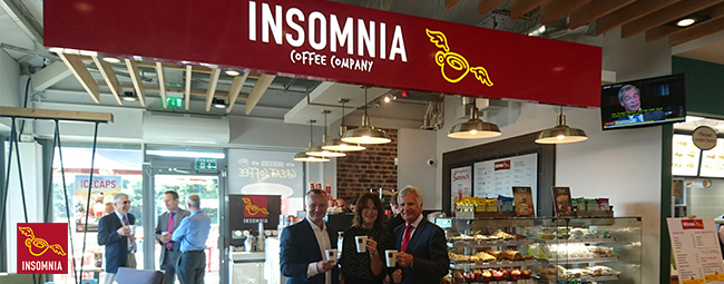 Creating the perfect blend as Insomnia Coffee partners with Blakemore Retail