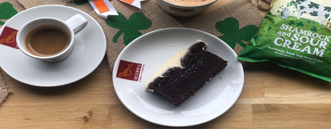 Enjoy the Luck of the Irish with Insomnia's Irish Stout Cake