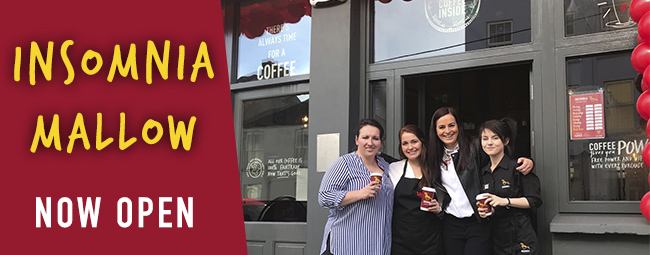 Coffee Crossroads - We're now open in Mallow!