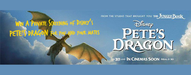 Win A Private Screening of Disney Pete's Dragon