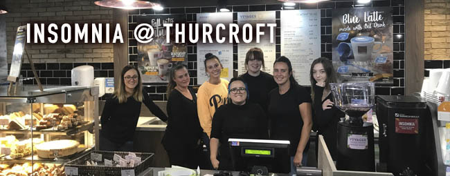 Now serving your favourite coffee in Thurcroft