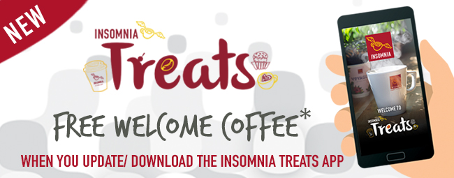 NEW INSOMNIA TREATS IS HERE! LOVE BEING REWARDED!