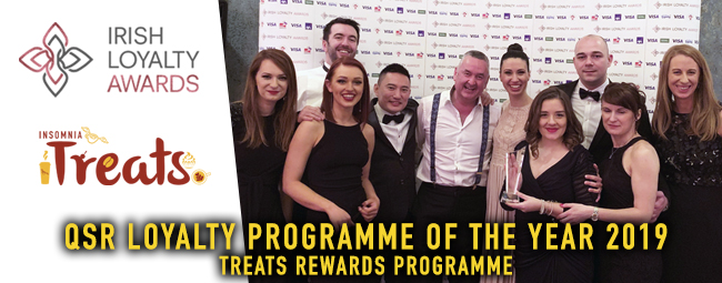 Treats Programme wins QSR Loyalty Programme of the Year 2019!