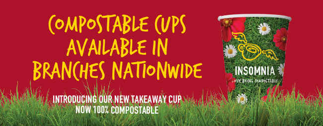 More than just cups, Insomnia launches Mission Compostable