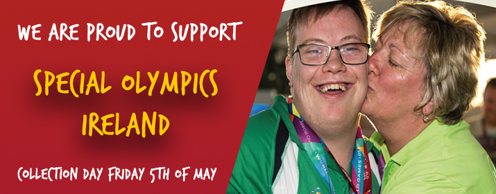 Special Olympics Ireland Collection Day Friday 5th of May