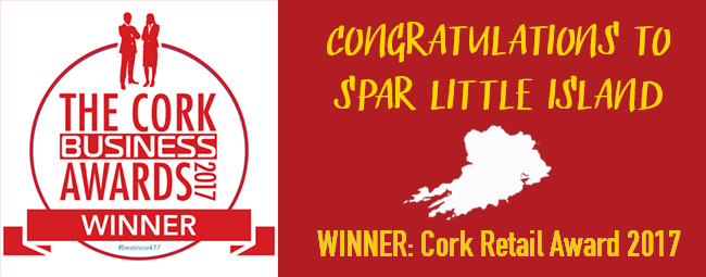 Congrats to SPAR Little Island - Cork Retail Award Winner 2017