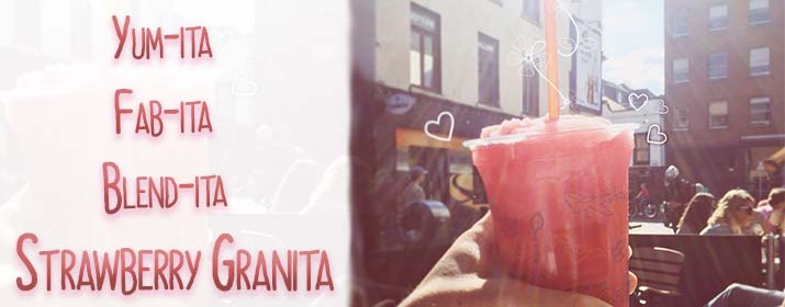Yum-ita Granita - Introducing our Latest Summer Drink!