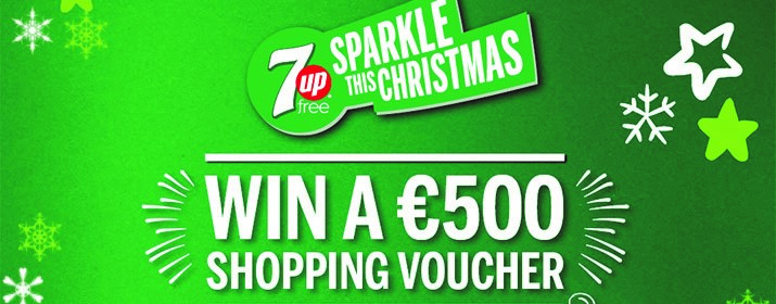 #SparkleThisChristmas - Win a Shopping Spree with Insomnia & 7UP