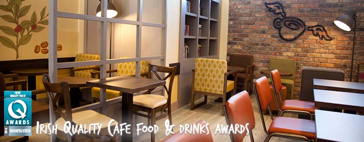 Insomnia shortlisted for Irish Quality Cafe Food and Drinks awards!
