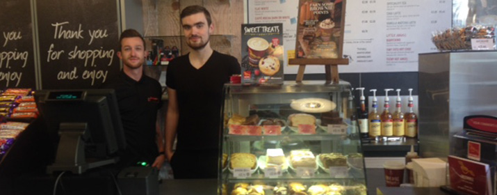 Westland Row welcomes Insomnia Coffee